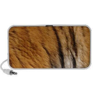 Photo-sampled Tiger Stripes Big Cat Wildlife Portable Speaker