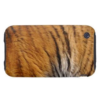 Photo-sampled Tiger Stripes Big Cat Wildlife Tough iPhone 3 Covers