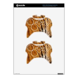 Photo-sampled Tiger Stripes Big Cat Wildlife Xbox 360 Controller Decal