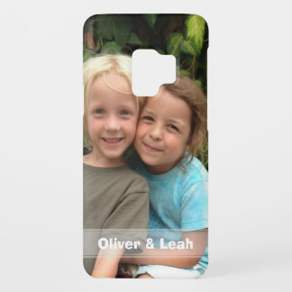 Photo Samsung galaxy S9 case with names