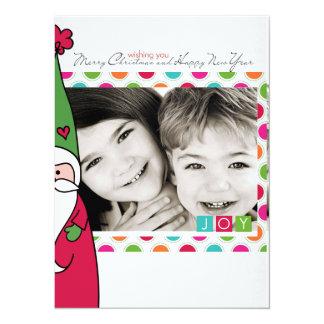 Photo santa Christmas Card