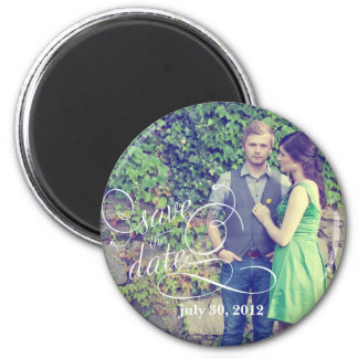 Photo Save the Date Magnet