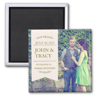 Photo Save the Date Magnet - Banner