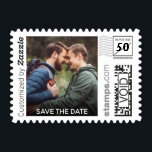 "Photo Save the Date PhotoStamp by Stamps.com<br><div class=""desc"">Send out your Save the Dates with custom postage. Personalize by adding your wedding date and favorite engagement photo.</div>"