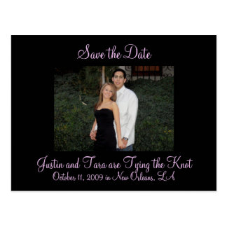 Photo Save the Date Postcard 5