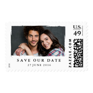 Photo save the date stamp | Postage stamp