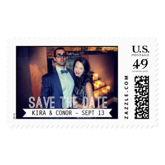 Photo Save the Date Stamps