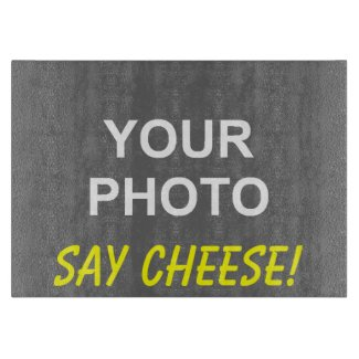 Photo Say Cheese Cutting Board
