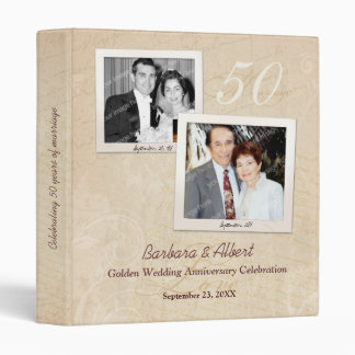 Photo Scrapbook Any Anniversary 3 Ring Binder