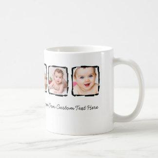 Photo Scribble Frame Personalized Unique Custom Coffee Mug