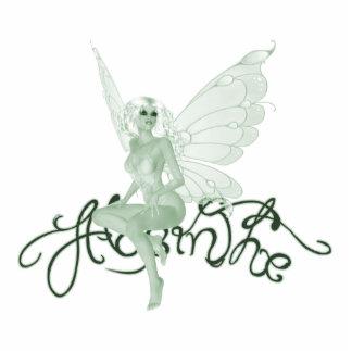 Photo Sculpture Absinthe Art Signature Green Fairy