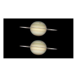 Photo Sequence of Saturn Business Card