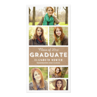 Photo Showcase CRAFT Graduation Photo Cards