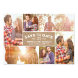 Photo Showcase Save The Date - Craft 5x7 Paper Invitation Card