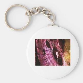 photo spider web basic round button keychain