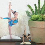 """Photo Statue Sculptures turn photo into statue 2x3<br><div class=""""desc"""">Several sizes and styles to select from. Simply replace the example photo with a regular photo of you, your sports star, your pet etc. and it will be cut out & cropped into a photo sculpture like the example. Now you can have a little statue of your little star or...</div>"""