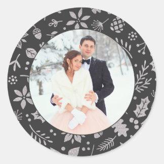 Photo Sticker | Holiday Frame Design