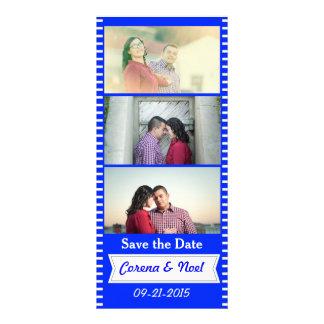 Photo Strip Save the Date Rack Card