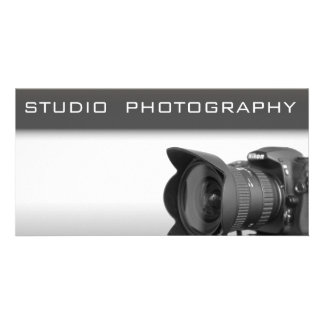 Photo studio card