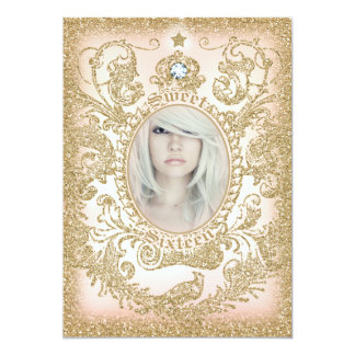 Photo Sweet 16 Once Upon a Time Princess Card