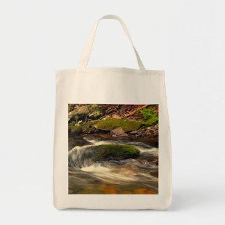Photo Taken at Fires Creek in North Carolina Grocery Tote Bag