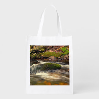 Photo Taken at Fires Creek in North Carolina Grocery Bags