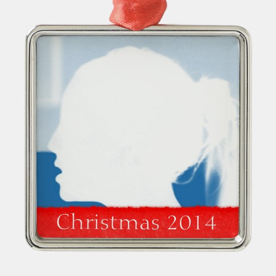 Photo & Tear Christmas Ornament Template