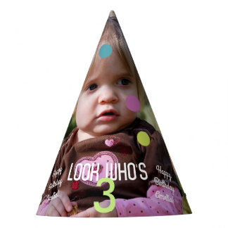 Photo Template Birthday Year Party Hat