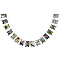Photo Template Bunting Flags