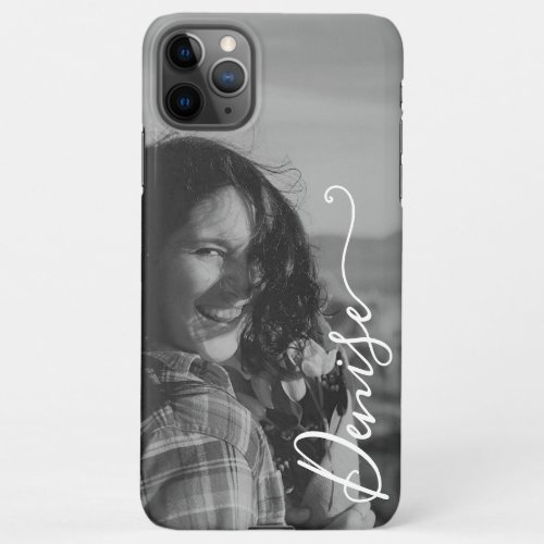Photo Template Calligraphy Hand Lettered Font Name Phone Case