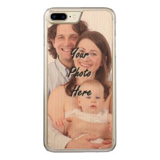 photo template carved iPhone 8 plus/7 plus case