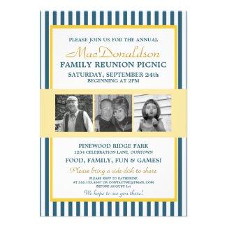Photo Template Family Reunion Invitations