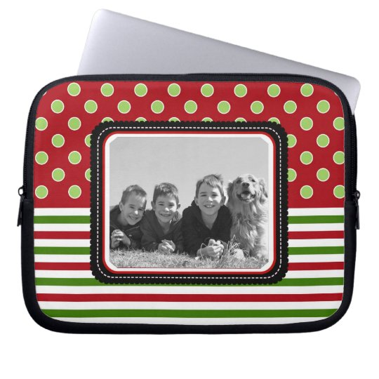 Photo Template Holiday Laptop or Netbook Sleeves