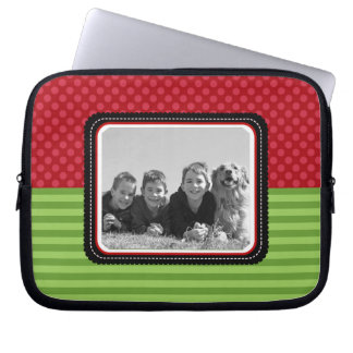 Photo Template Holiday Laptop or Netbook Sleeves Computer Sleeves