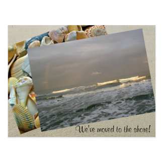 Photo Template Moving to the Shore Postcard