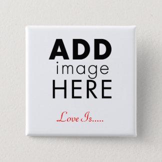 Photo Template Pinback Button