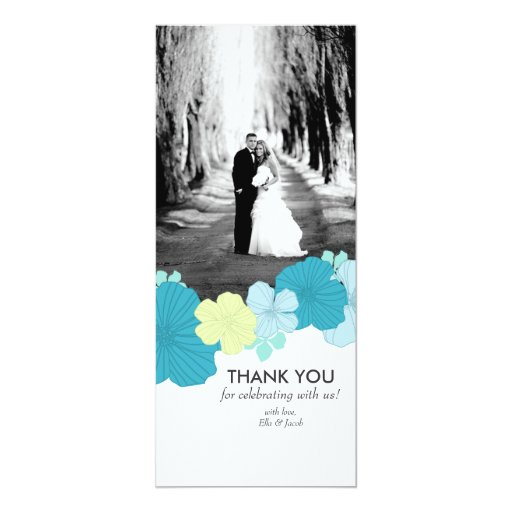 Photo Thank You Cad // Lush Tropics // Blue Card