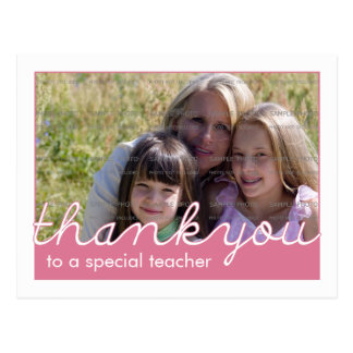 Photo Thank You Cards for Teachers Postcards