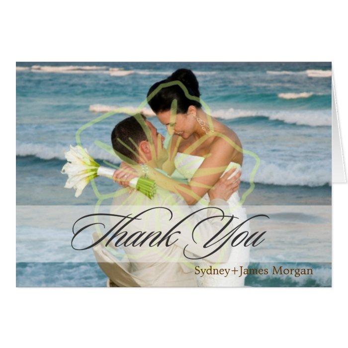 PHOTO THANK YOU / DIY CARD