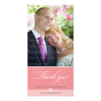 PHOTO THANK YOU :: lovely type 1 Card