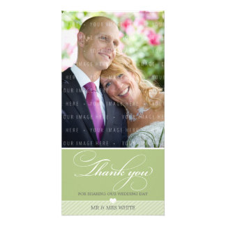 PHOTO THANK YOU :: lovely type 3 Card