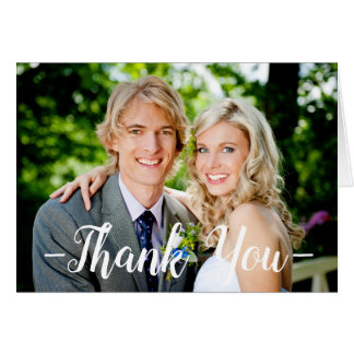 Photo Thank You - Note Card