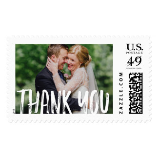 Photo Thank You Stamps Wedding Photo