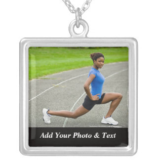 Photo Track And Field Sports Necklaces