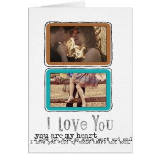 photo Valentines Greeting card