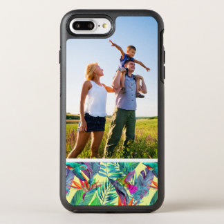 Photo Watercolor Humminbirds In The Jungle OtterBox Symmetry iPhone 7 Plus Case