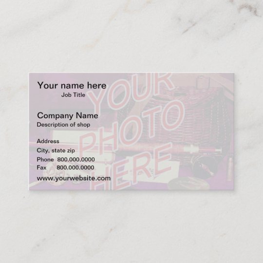 Photo watermark background template business card zazzle photo watermark background template business card colourmoves