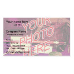 Photo Watermark Background template Business Cards