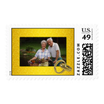 Photo Wedding Anniversary Postage Stamp