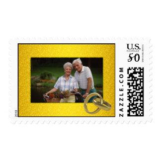 Photo Wedding Anniversary Postage Stamp